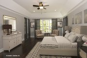 Country Style House Plan - 4 Beds 3 Baths 2445 Sq/Ft Plan #929-873 Interior - Master Bedroom
