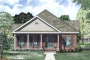 Traditional Style House Plan - 2 Beds 2 Baths 1593 Sq/Ft Plan #17-2419 Exterior - Other Elevation
