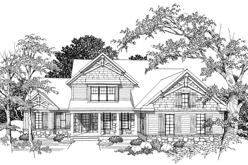 Traditional Photo Plan #70-1037 - Houseplans.com