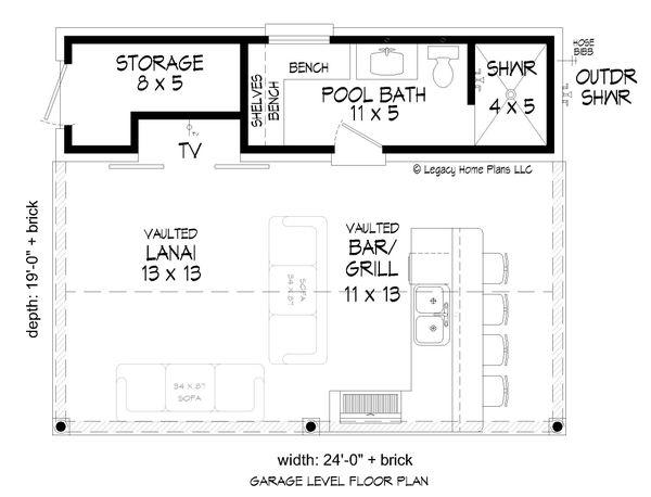 House Plan Design - Country Floor Plan - Main Floor Plan #932-185