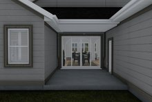 Architectural House Design - Craftsman Exterior - Outdoor Living Plan #1060-70