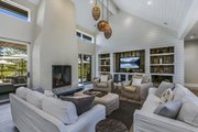 Contemporary Style House Plan - 3 Beds 3.5 Baths 3832 Sq/Ft Plan #892-21 Interior - Family Room