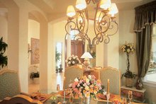 Home Plan - Mediterranean Interior - Dining Room Plan #930-189