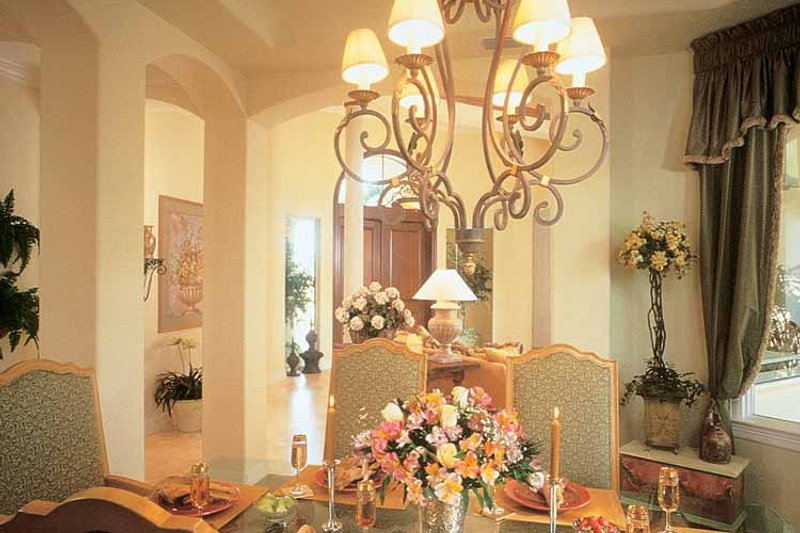 Mediterranean Interior - Dining Room Plan #930-189 - Houseplans.com