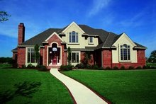 Dream House Plan - Traditional Exterior - Front Elevation Plan #20-1054
