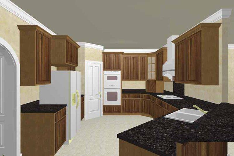 Traditional Interior - Kitchen Plan #44-213 - Houseplans.com