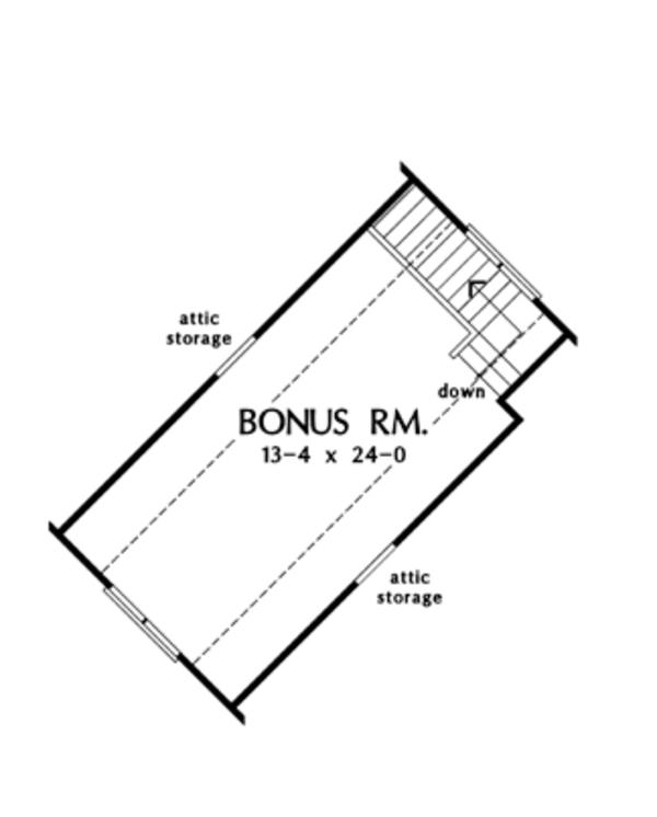 European Floor Plan - Other Floor Plan Plan #929-904