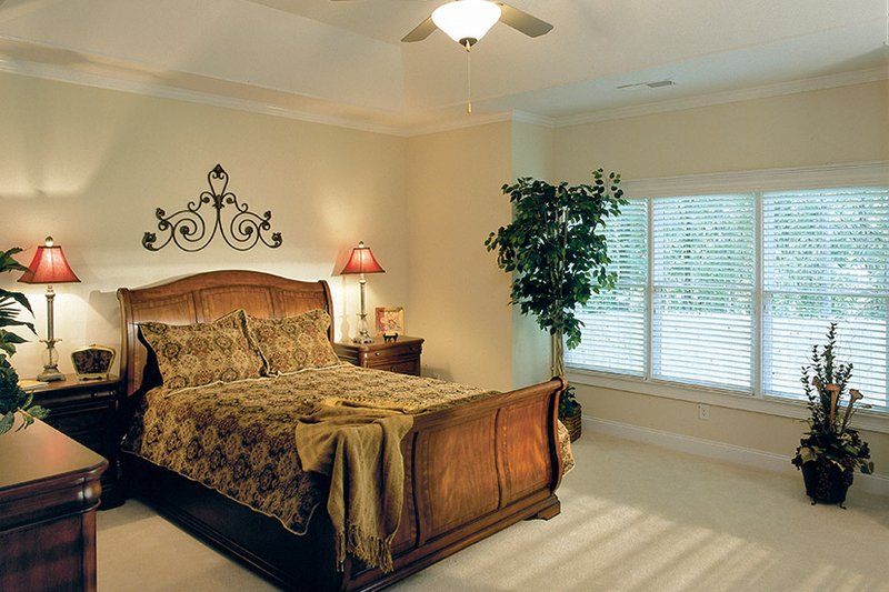 Traditional Interior - Master Bedroom Plan #927-874 - Houseplans.com