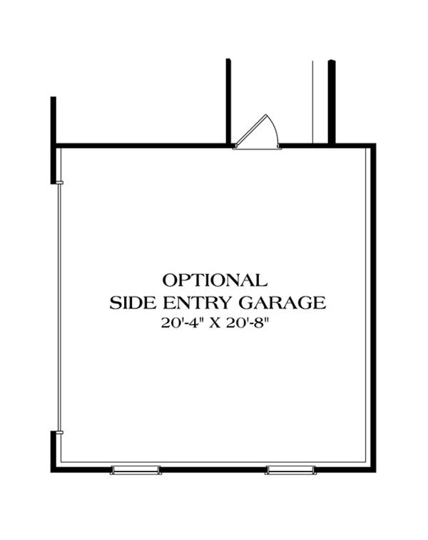 Colonial Floor Plan - Other Floor Plan Plan #453-629