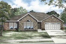 Home Plan - Ranch Exterior - Front Elevation Plan #17-3204