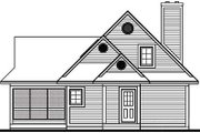 Farmhouse Style House Plan - 2 Beds 1.5 Baths 1482 Sq/Ft Plan #23-525 Exterior - Rear Elevation