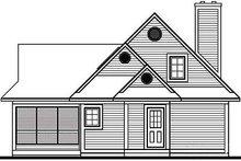 Farmhouse Exterior - Rear Elevation Plan #23-525