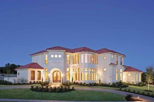Home Plan - Mediterranean Exterior - Front Elevation Plan #952-196