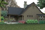 Craftsman Style House Plan - 3 Beds 2 Baths 2466 Sq/Ft Plan #120-246 Exterior - Other Elevation