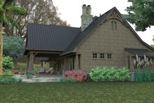 Dream House Plan - Craftsman Exterior - Other Elevation Plan #120-246
