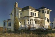 Country Style House Plan - 4 Beds 3.5 Baths 3083 Sq/Ft Plan #928-98 Exterior - Rear Elevation