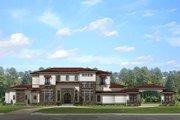 Mediterranean Style House Plan - 8 Beds 6.5 Baths 7174 Sq/Ft Plan #1058-151