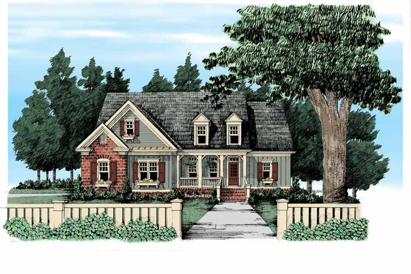 Country Exterior - Front Elevation Plan #927-305 - Houseplans.com