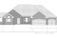 House Plan Design - Traditional Exterior - Front Elevation Plan #1060-61