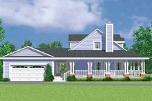House Blueprint - Victorian Exterior - Other Elevation Plan #72-1131