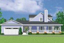 House Plan Design - Victorian Exterior - Other Elevation Plan #72-1131