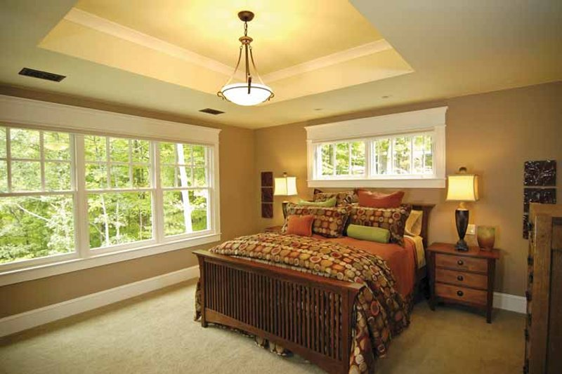 Craftsman Interior - Master Bedroom Plan #928-30 - Houseplans.com