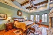 Mediterranean Style House Plan - 4 Beds 5 Baths 4320 Sq/Ft Plan #80-199 Interior - Master Bedroom