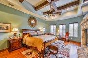 Mediterranean Style House Plan - 4 Beds 5 Baths 4320 Sq/Ft Plan #80-199 Interior - Master Bedroom
