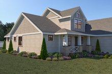 Dream House Plan - Craftsman Exterior - Other Elevation Plan #1070-70