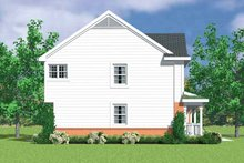 House Blueprint - Colonial Exterior - Other Elevation Plan #72-1112