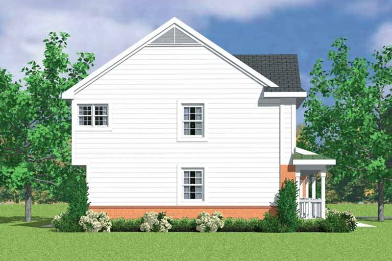Colonial Exterior - Other Elevation Plan #72-1112 - Houseplans.com