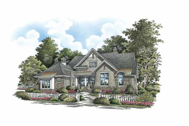Craftsman Exterior - Front Elevation Plan #929-861 - Houseplans.com