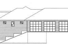 Architectural House Design - Craftsman Exterior - Other Elevation Plan #117-858