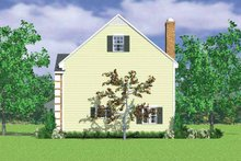 House Plan Design - Colonial Exterior - Other Elevation Plan #72-1106