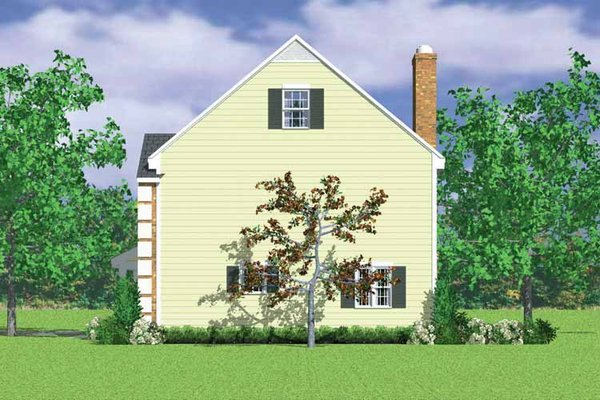 Colonial Floor Plan - Other Floor Plan Plan #72-1106