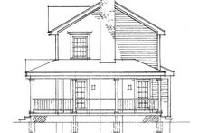 House Plan Design - Victorian Exterior - Other Elevation Plan #1016-53