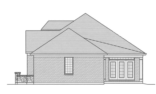 Country Floor Plan - Other Floor Plan Plan #46-821