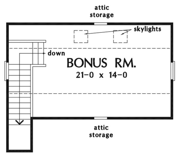 Country Floor Plan - Other Floor Plan Plan #929-976