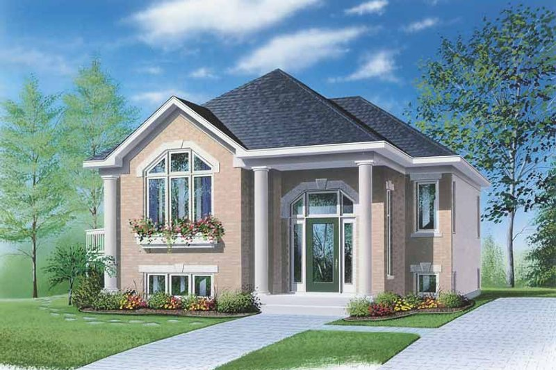 Contemporary Exterior - Front Elevation Plan #23-2364