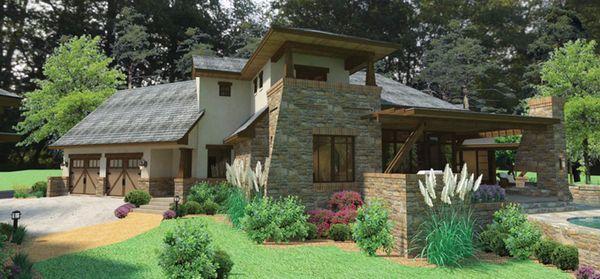Home Plan - Cottage Floor Plan - Other Floor Plan #120-244
