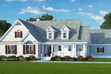 Home Plan - Country Exterior - Front Elevation Plan #929-961