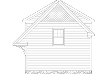 Craftsman Exterior - Rear Elevation Plan #1029-66
