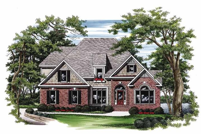 Traditional Exterior - Front Elevation Plan #927-111