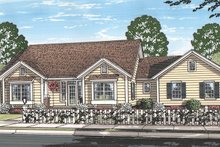 Architectural House Design - Ranch Exterior - Front Elevation Plan #513-2157