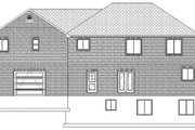 Traditional Style House Plan - 7 Beds 4 Baths 4676 Sq/Ft Plan #1060-18 Exterior - Rear Elevation