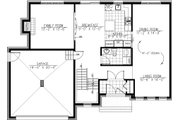 Modern Style House Plan - 3 Beds 1.5 Baths 2072 Sq/Ft Plan #138-356 Floor Plan - Main Floor Plan