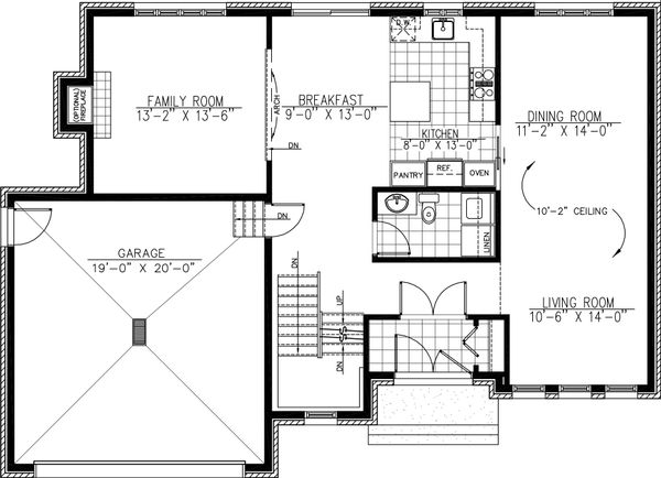 2000 square foot 3 bedroom 2 bath modern home