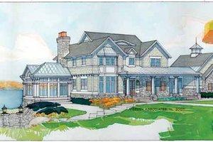 Craftsman Exterior - Front Elevation Plan #928-45