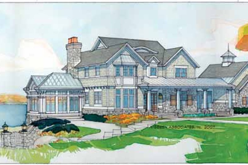 House Plan Design - Craftsman Exterior - Front Elevation Plan #928-45