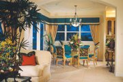 Mediterranean Style House Plan - 4 Beds 3.5 Baths 3792 Sq/Ft Plan #930-50 Interior - Dining Room